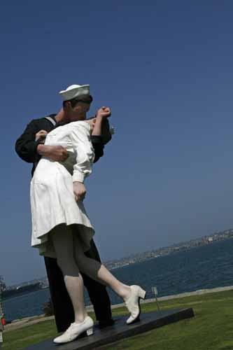 Navy statue