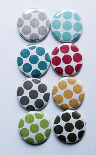 Linen-polka-dots