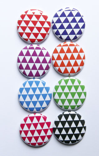 Bright-and-white-colored-triangles