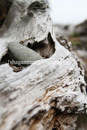 Rock-on-wood