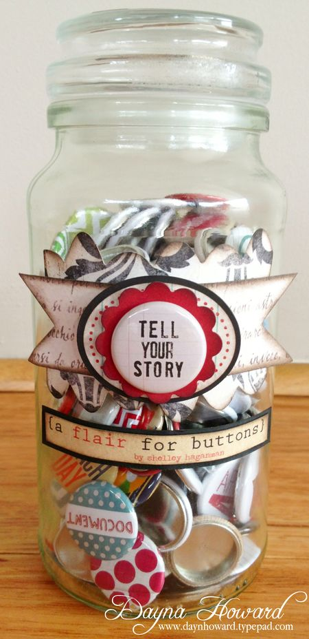 {A Flair For Buttons} Jar (1)