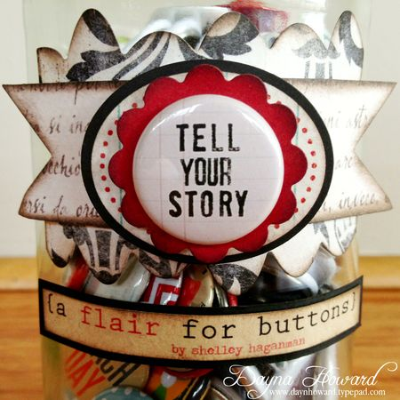 {A Flair For Buttons} Jar (2)