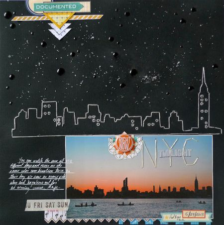 Cityscape_scrapbook_page_new_york_brooklyn_michelle_hernandez