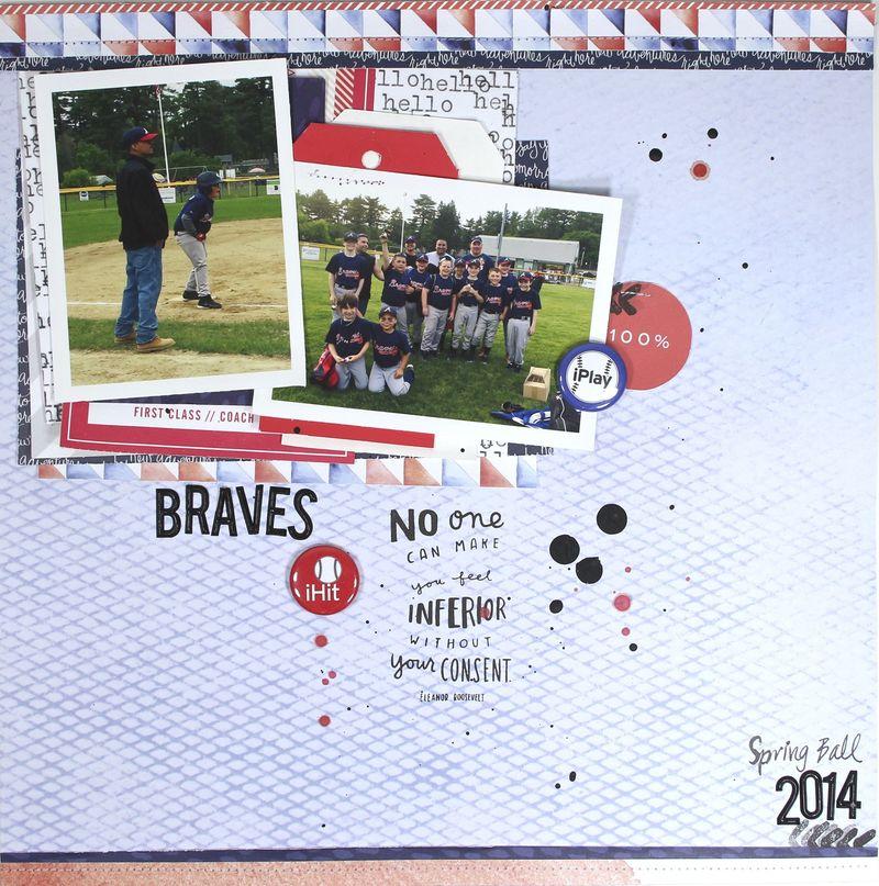 Braves 12x12 square