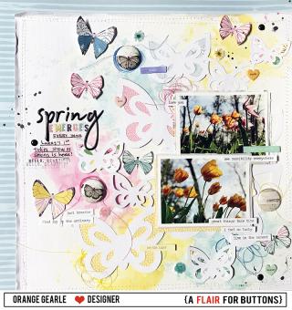 SpringEmergesBlueButterfly