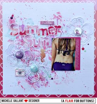 Summer sun tag