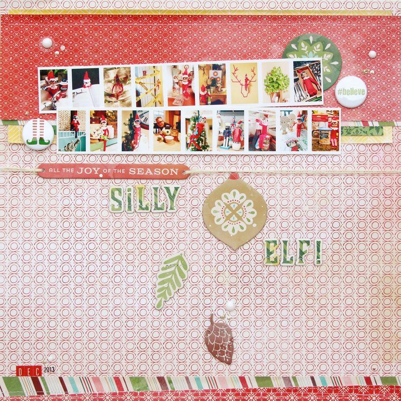 Silly Elf 12x12