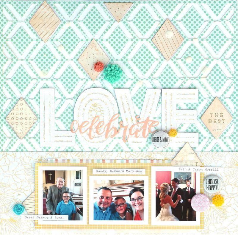 Celebrate Love 12x12 square