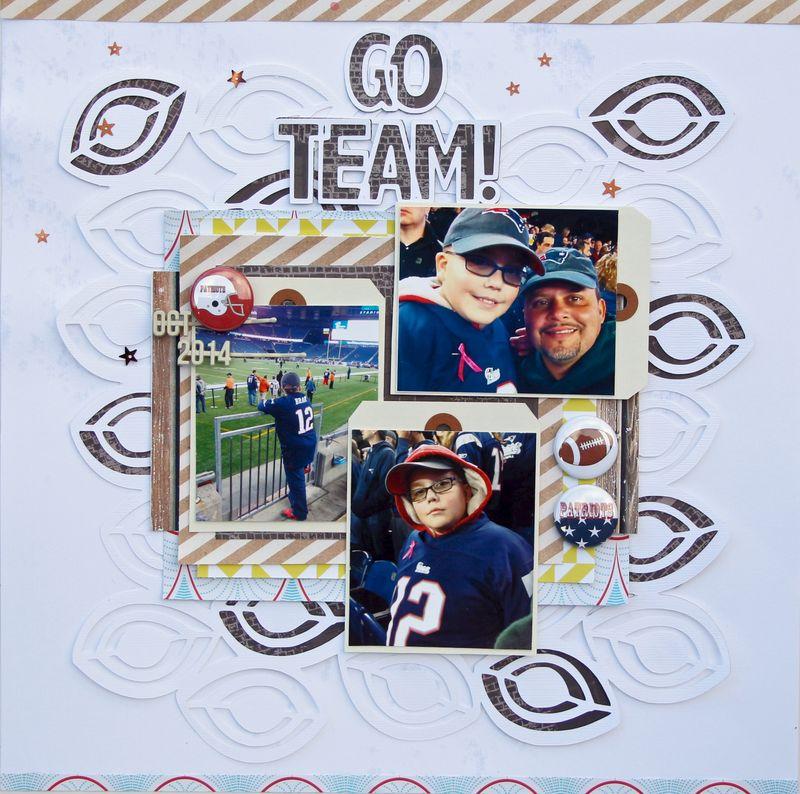 Go Team no footer