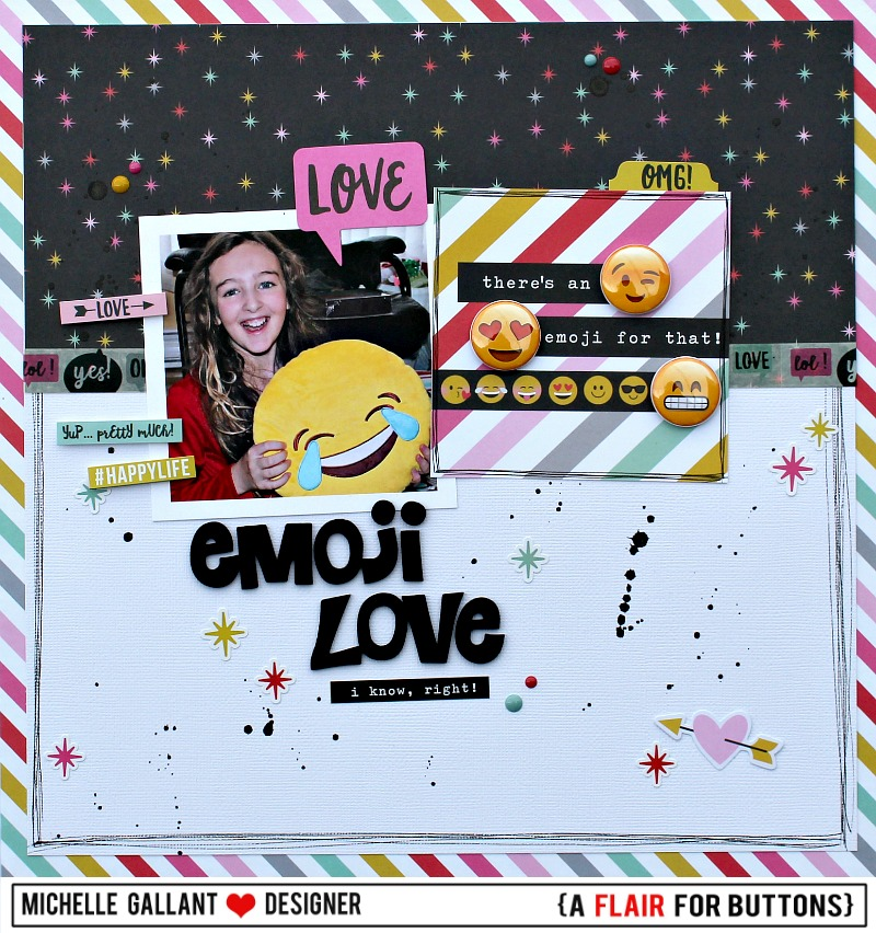 Emoji love tag