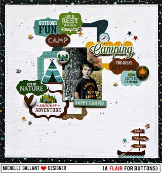Camping tag