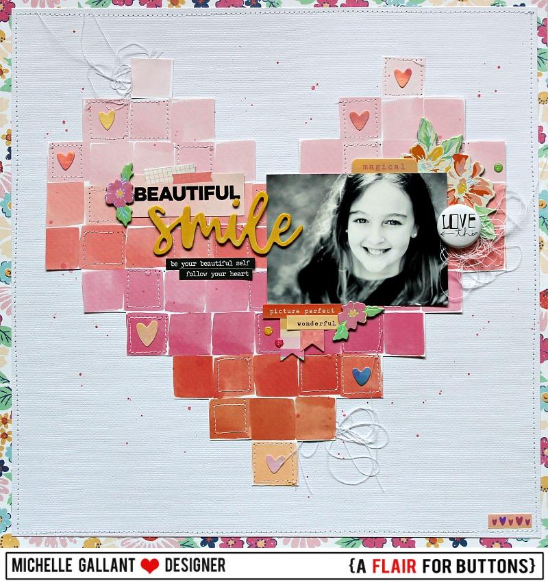 Beautiful smile tag