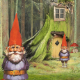 Two gnomes and home